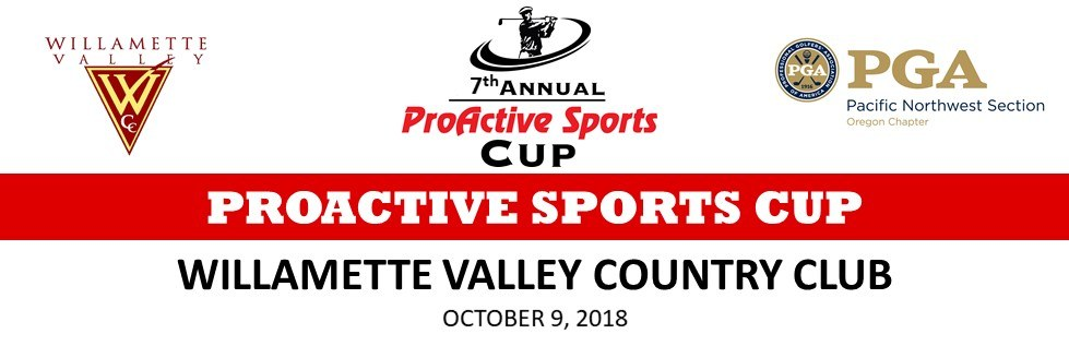 The ProActive Sports Cup @ Willamette Valley CC | Canby | Oregon | United States