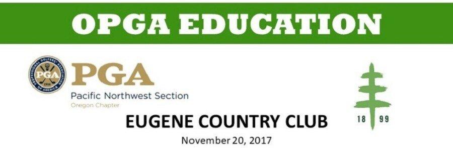 Building Your Career Value & PGA Junior League @ Eugene CC