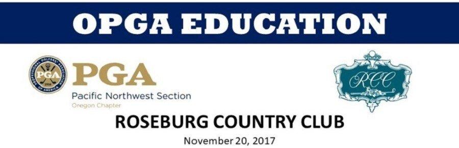 Building Your Career Value & PGA Junior League @ Roseburg CC