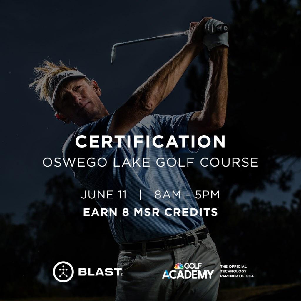 Blast Certification – Level 1 @ Oswego Lake Country Club