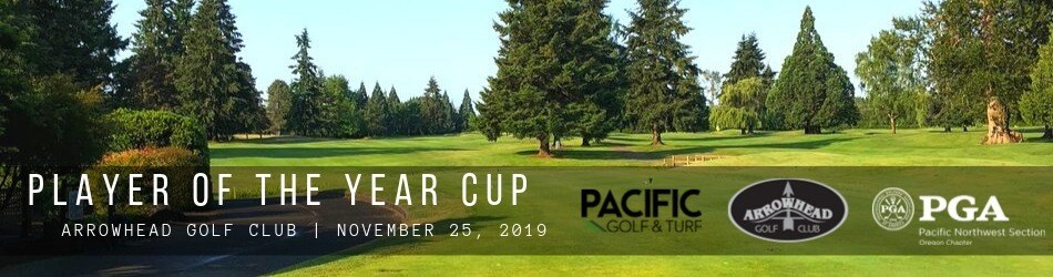Pacific Golf & Turf – Player of the Year Cup @ Arrowhead GC