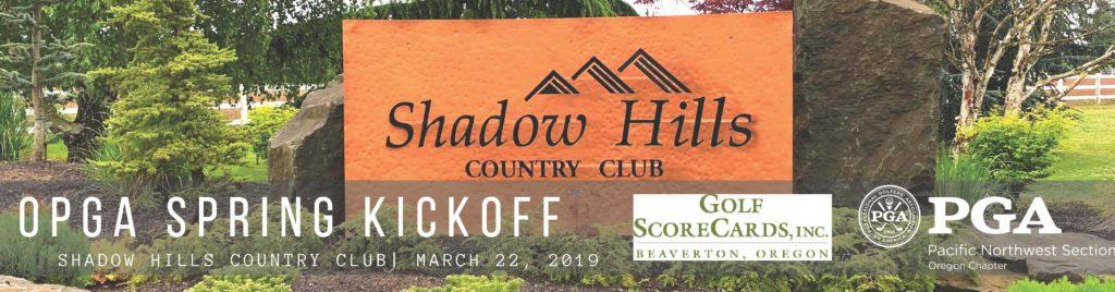 OPGA Spring Kickoff @ Shadow Hills CC
