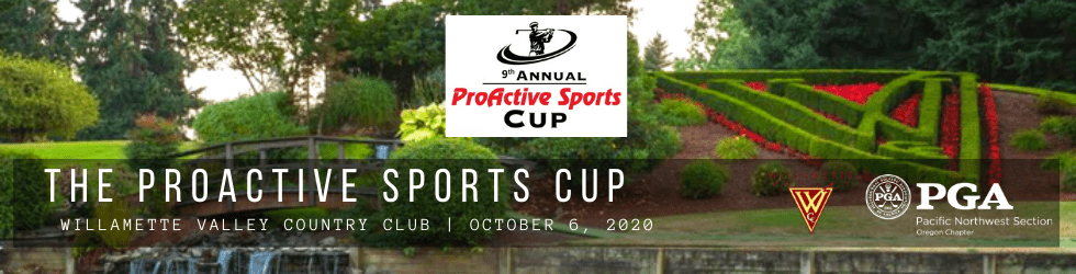 The ProActive Sports Cup @ Willamette Valley CC