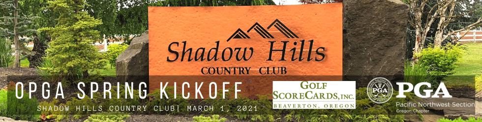 OPGA Spring Pro Mixer @ Shadow Hills CC